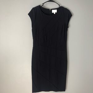 Dalia navy blue dress
